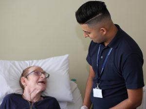 nurse home help service in Upham